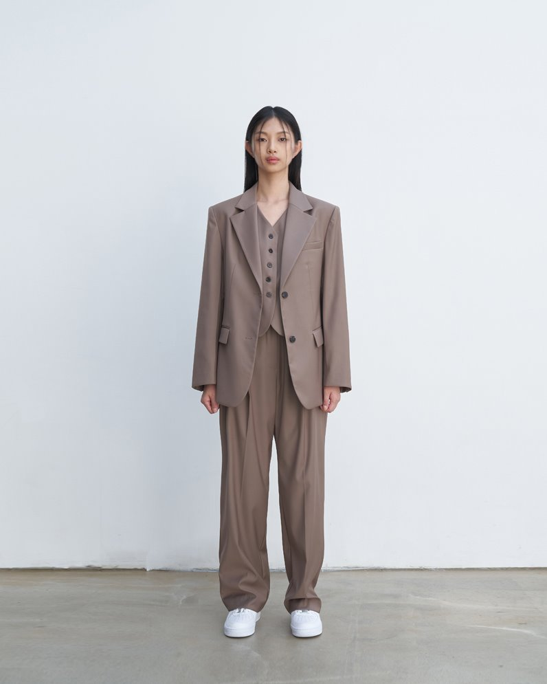 Classic two buttton suit jacket