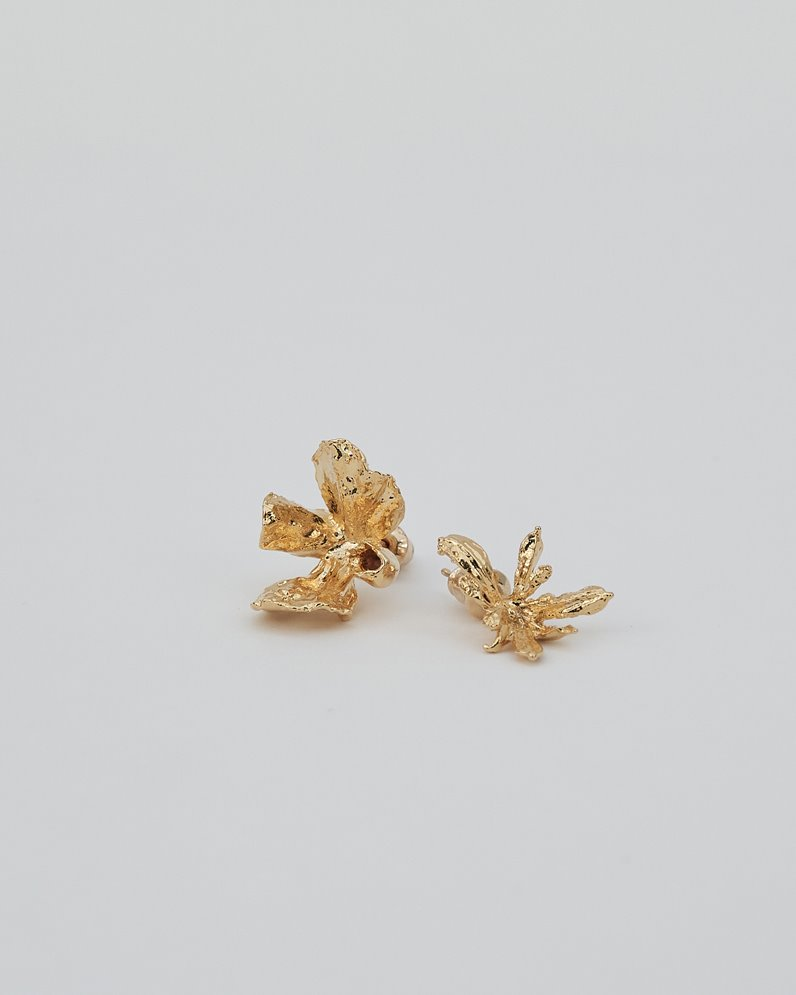 Flower Leaf Earing (GOLD)