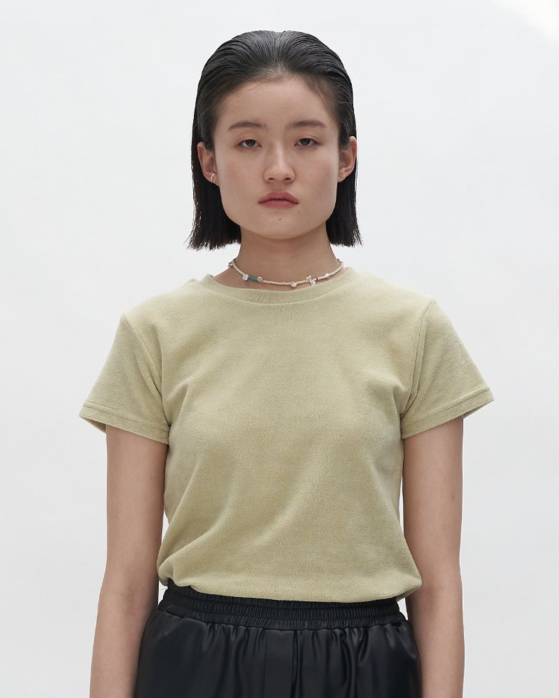 Terry-Loop Knit Top