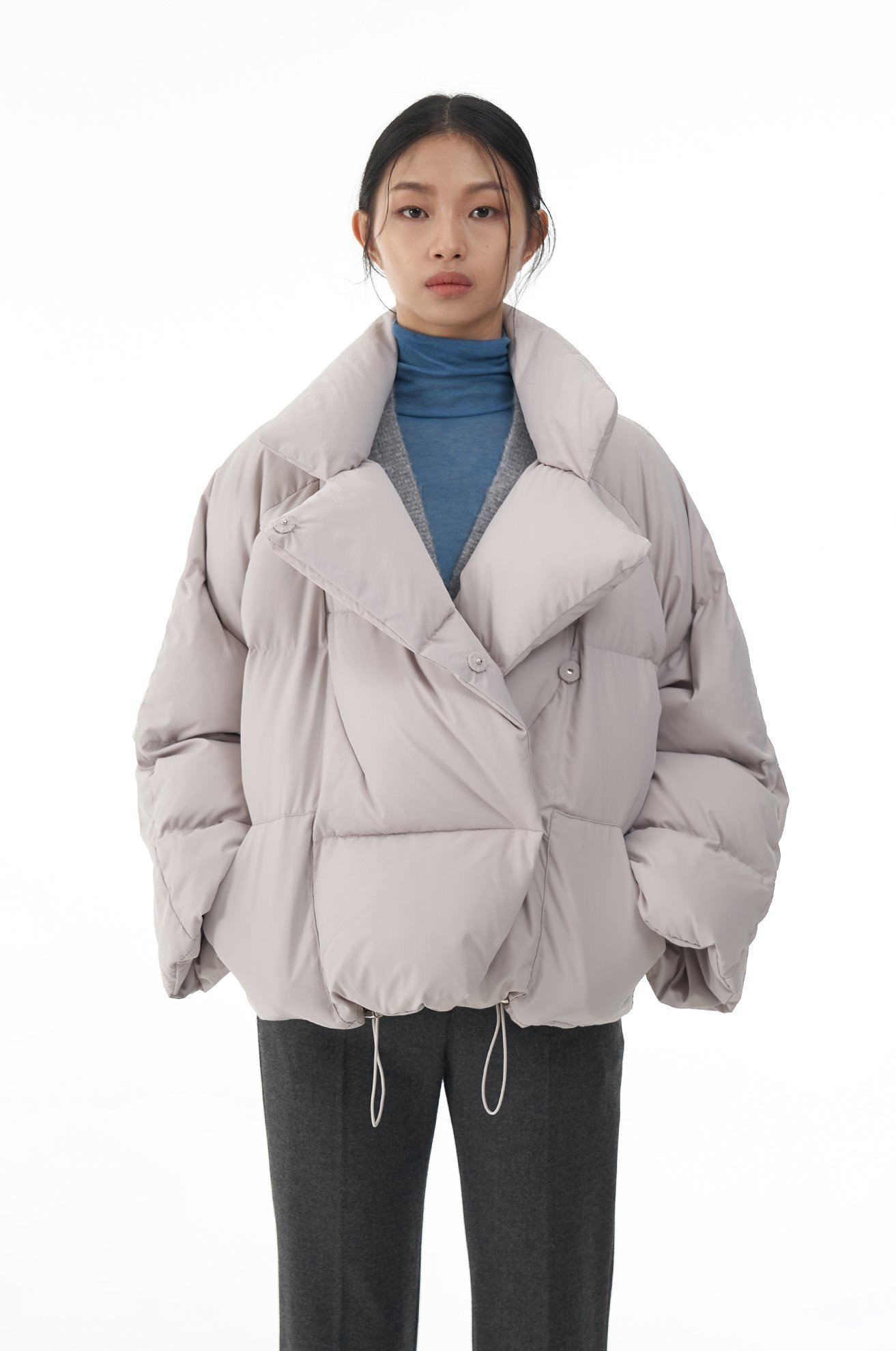 Duck Down Jacket (GRAY)