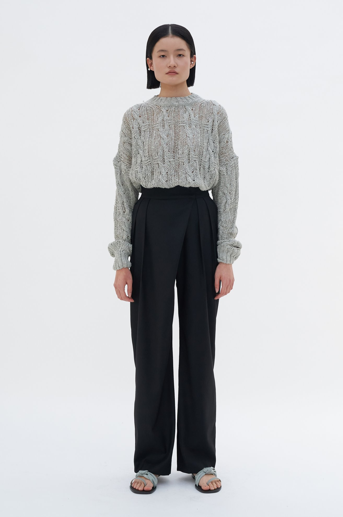 Asymmetrical Trouser (3/8 순차배송)