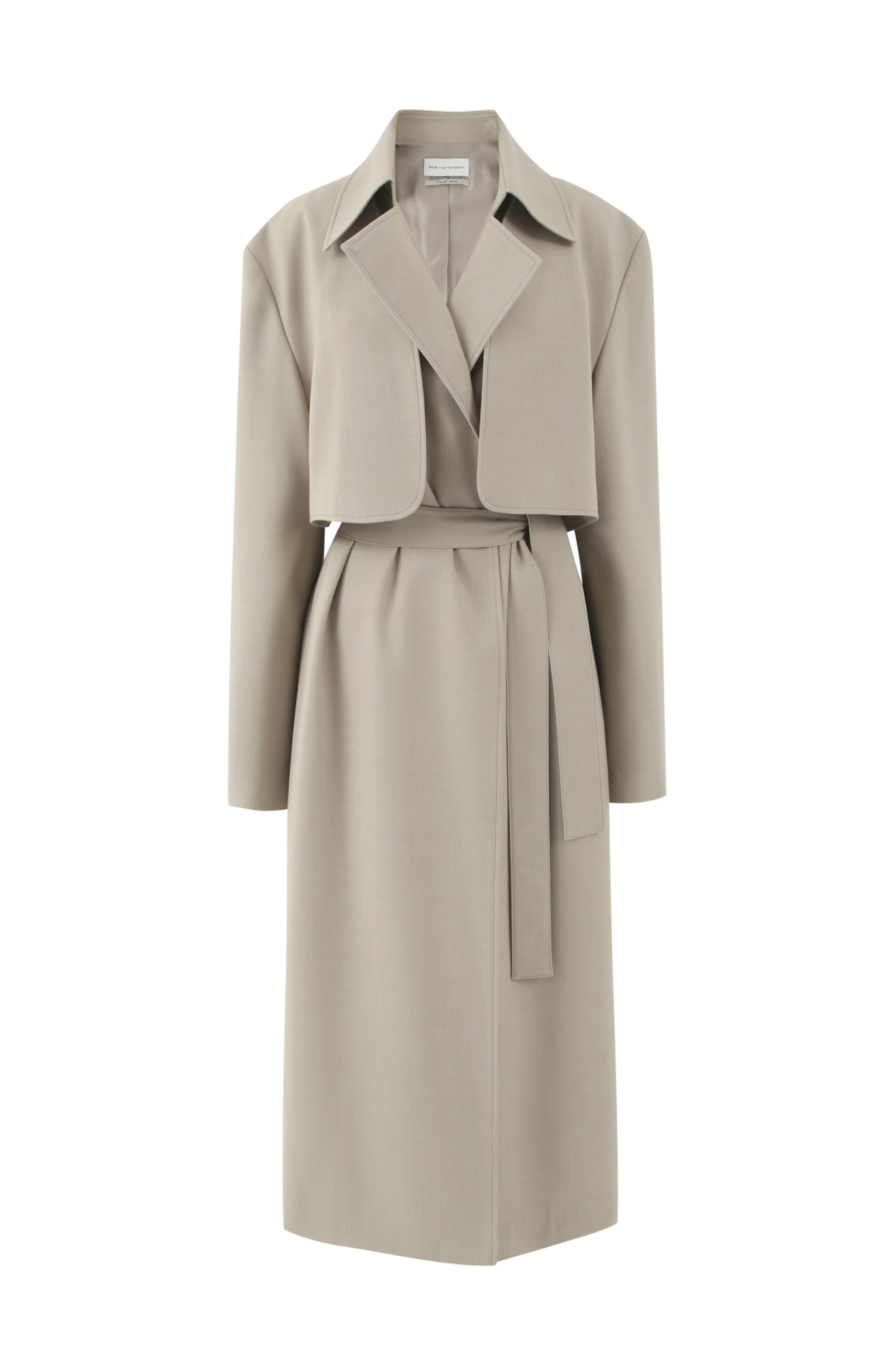 3 WAY TRENCH COAT (KAHKI BEIGE) ATELIER EDITION
