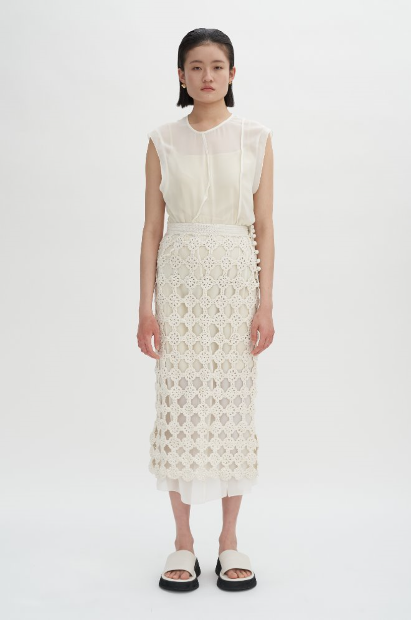 Paneled Dress with Inner Slip (5/14일 순차발송)