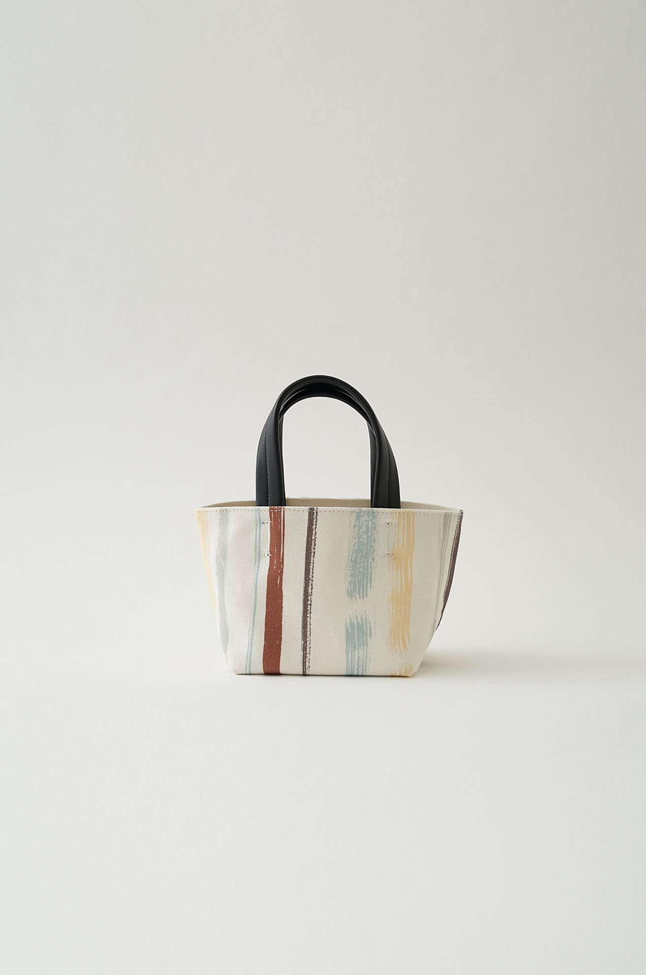 Stripe-Print Small Bag