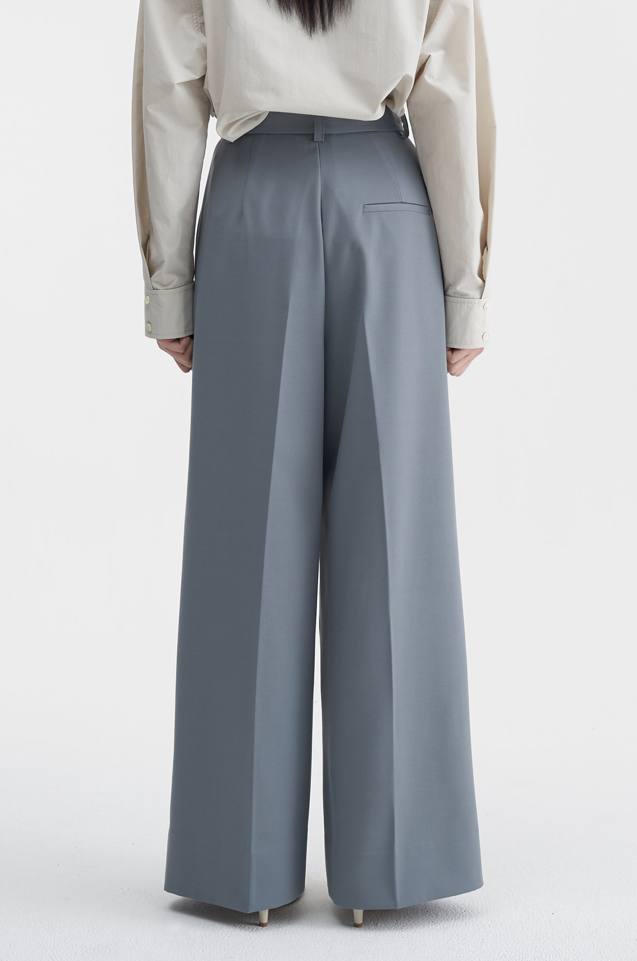 Two Pleat Wide Trouser (MINT)ATELIER EDITION
