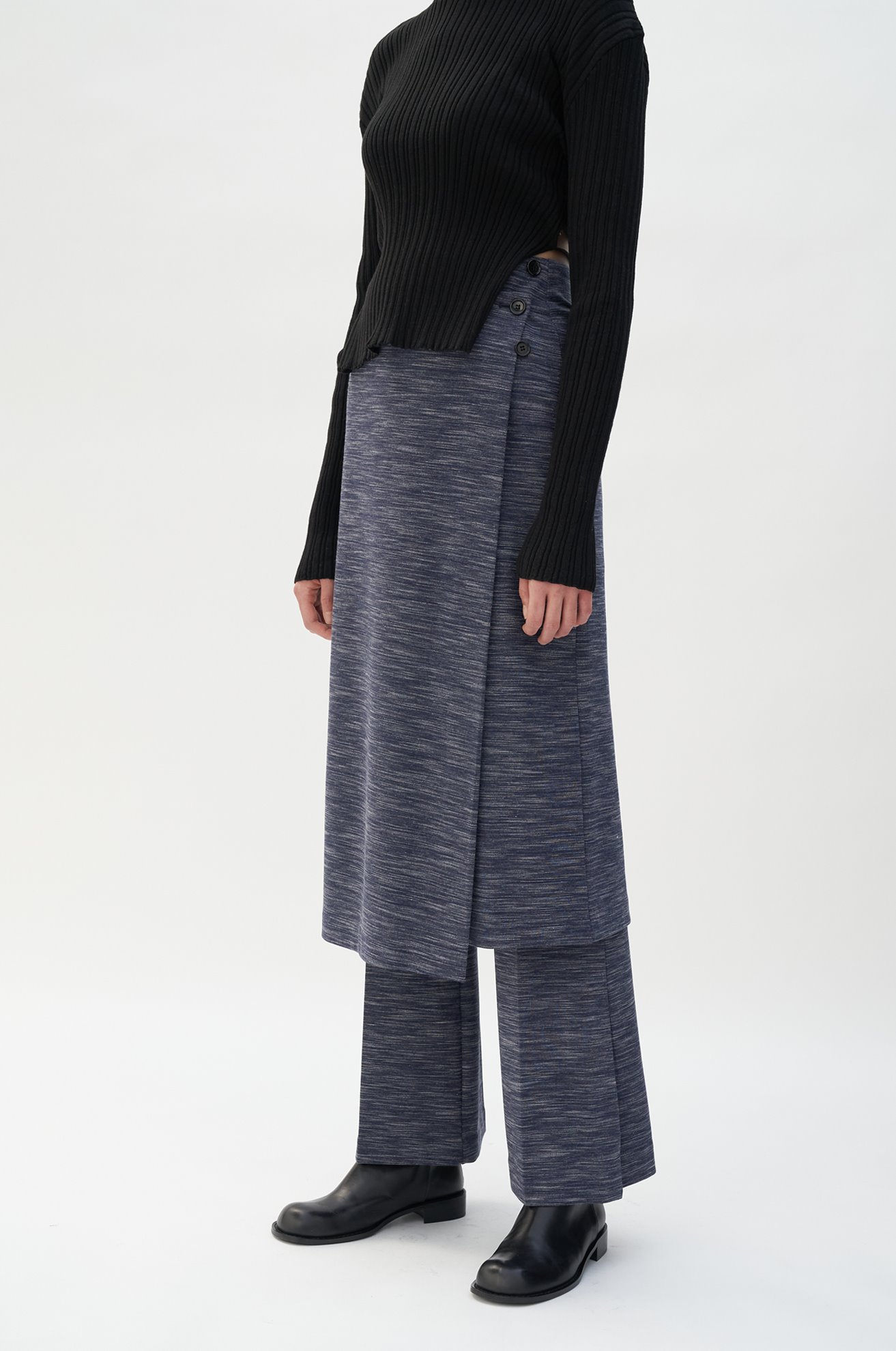 Space Dyed Interlock Pants