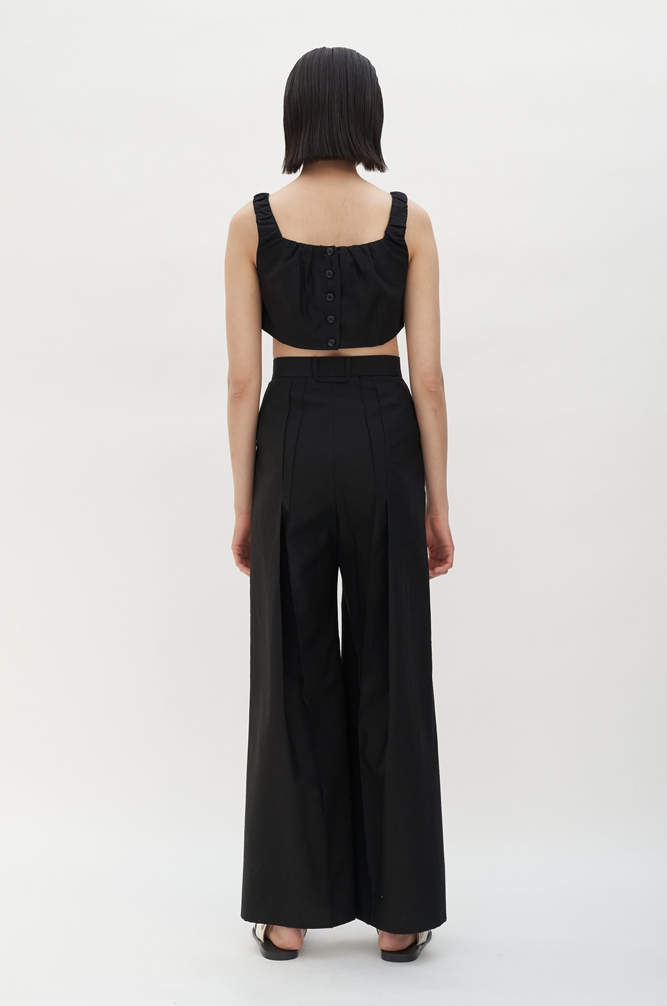 Back Pleat Trouser