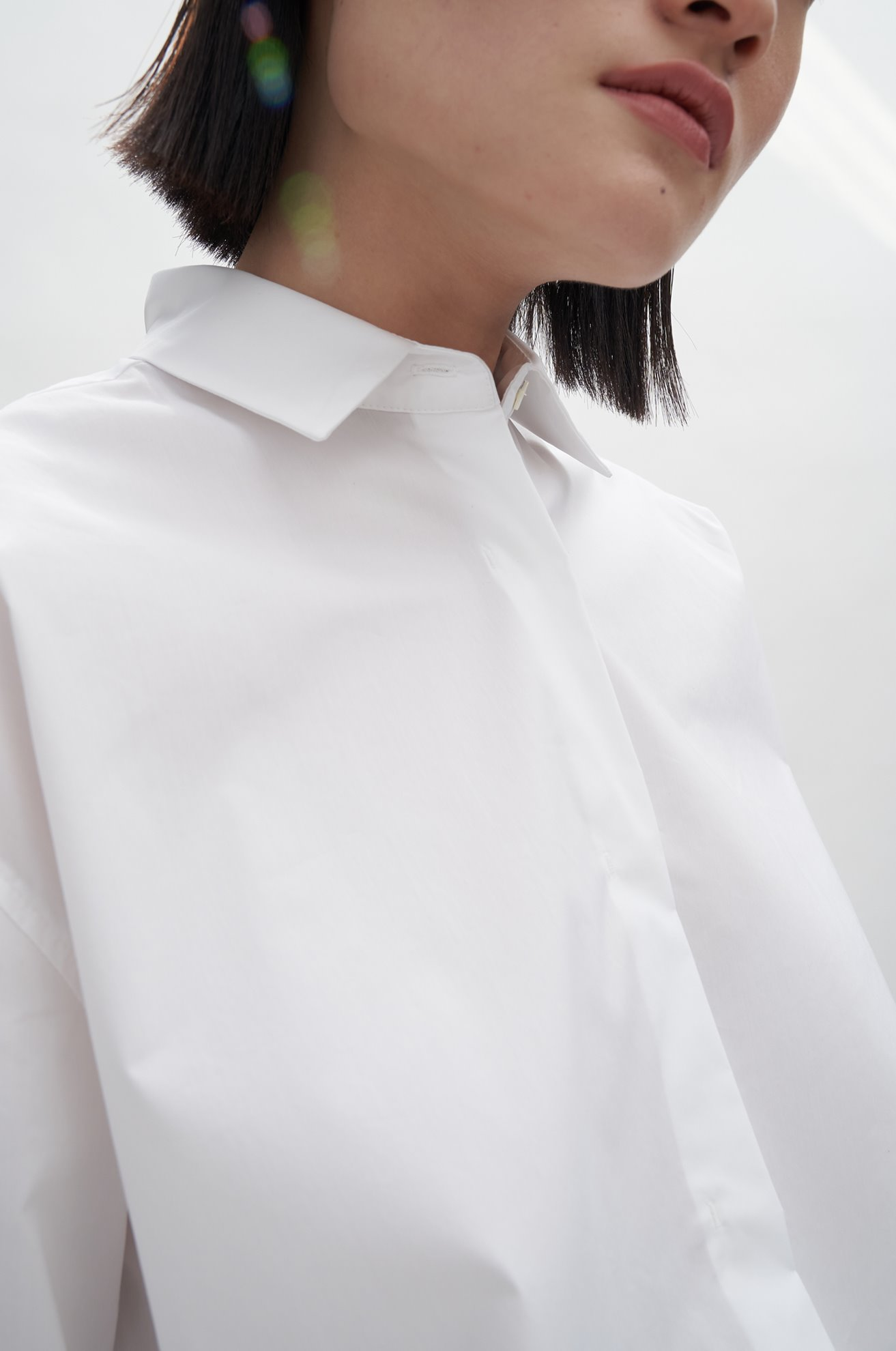Banded Cotton Shirts