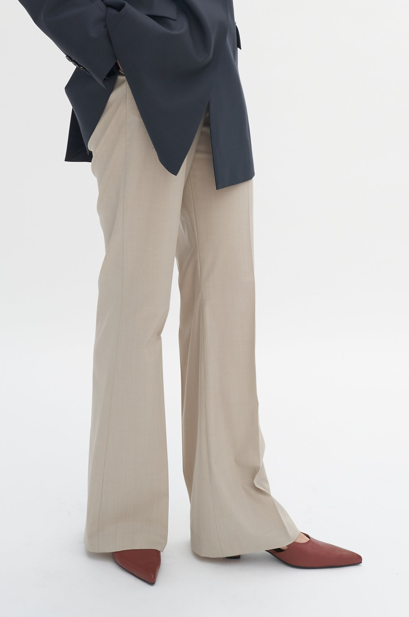 Wool Basic Slacks