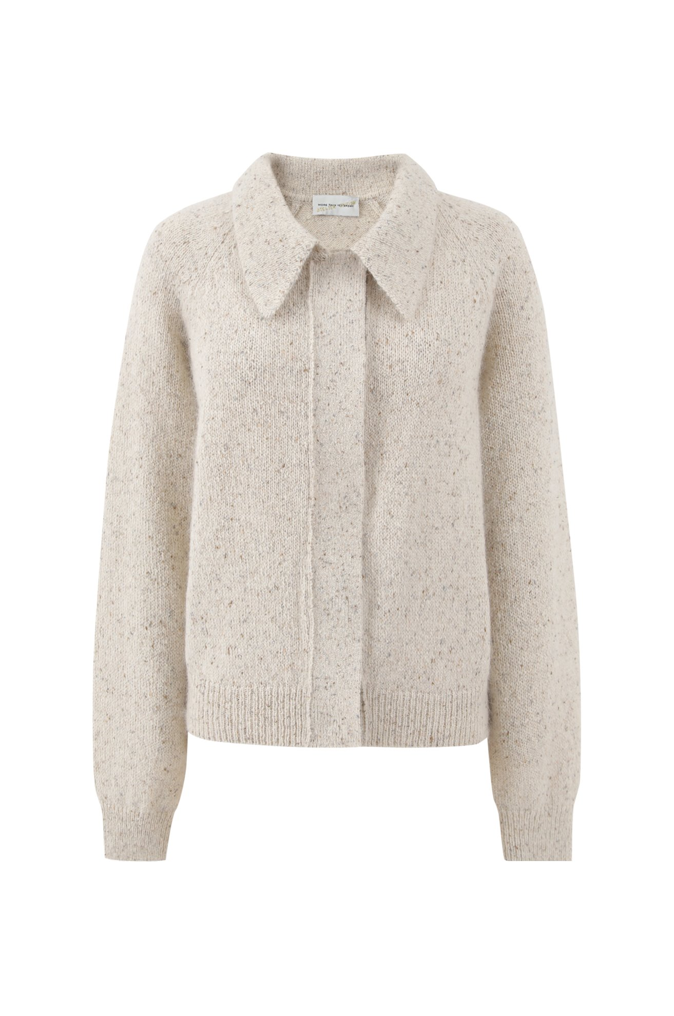Silky Mohair Cardigan (IVORY) ATELIER EDITION
