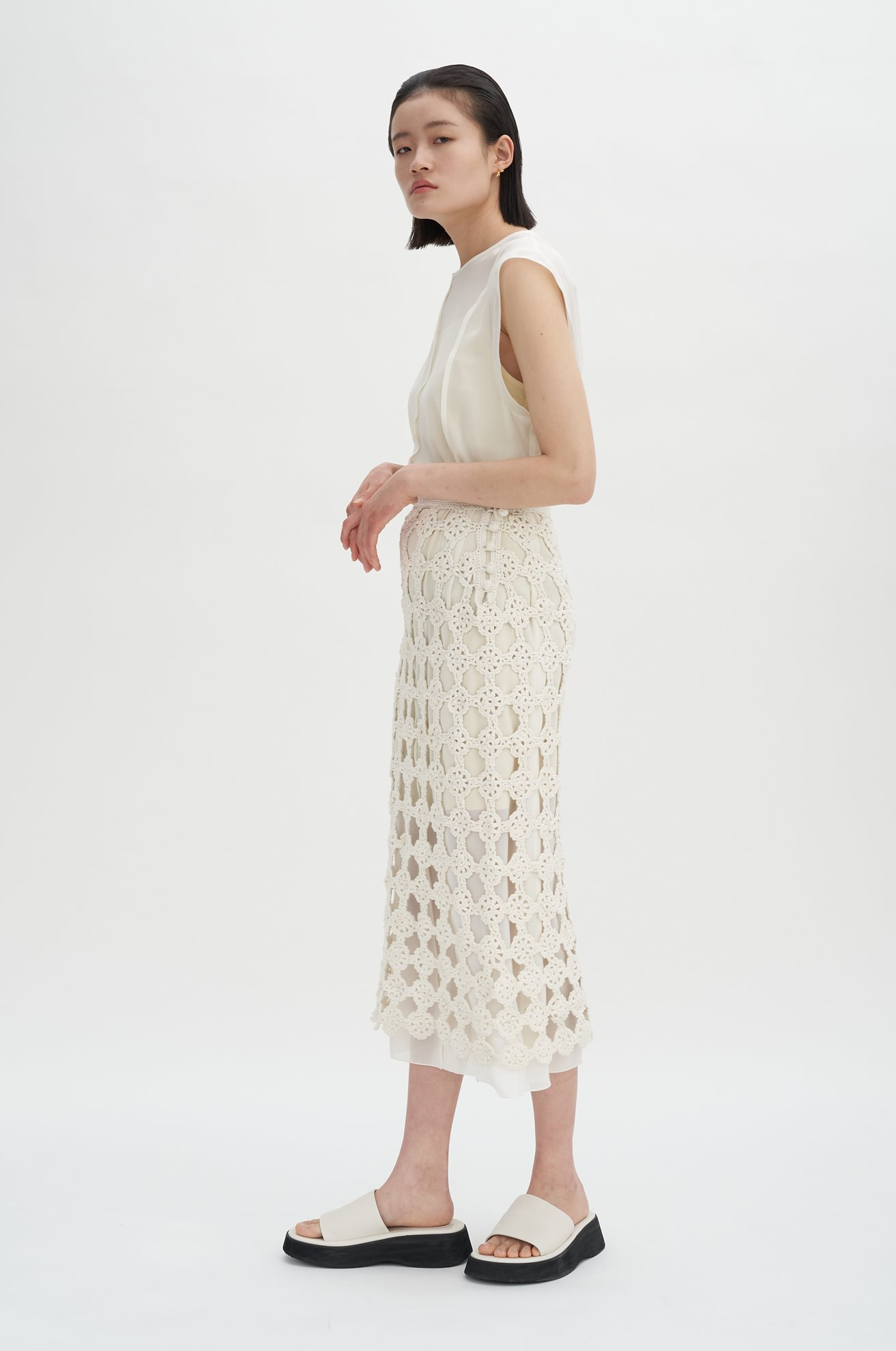 Hand-Made Crochet Skirt