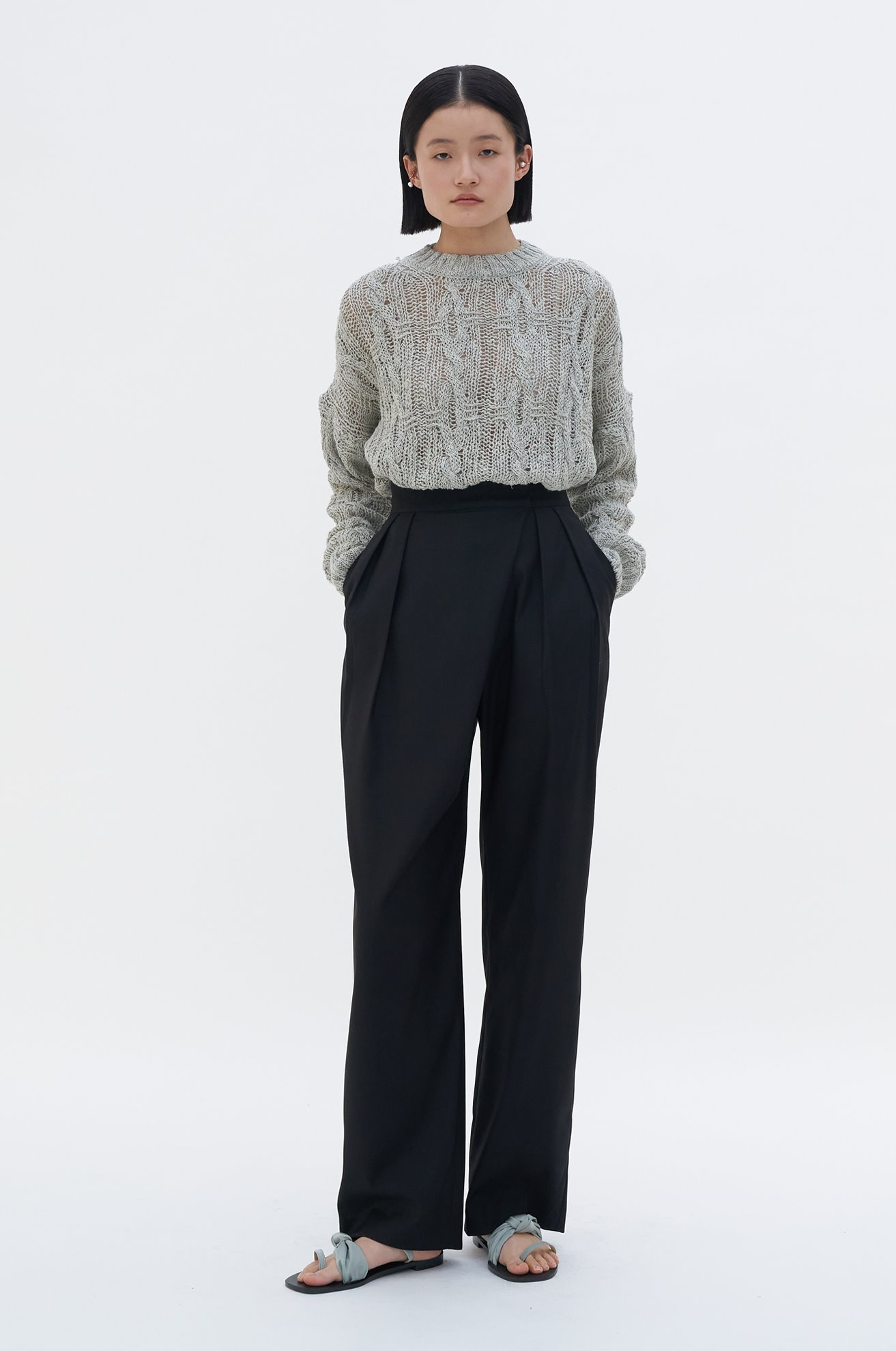 Asymmetrical Trouser